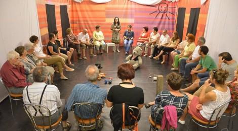 Színházpedagógia foglalkozással egybekötött szociális projekt az Osonónál
