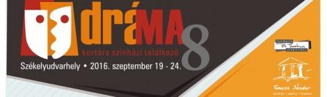 Hamarosan kezdődik a dráMA 8 - kortárs színházi találkozó