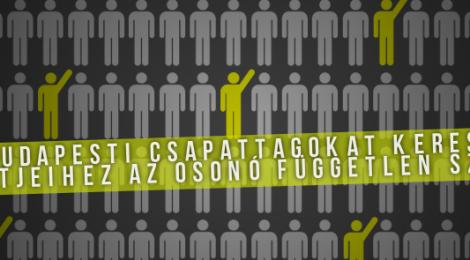 Budapesti csapattagokat keres projektjeihez az Osonó Színházműhely