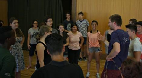 Budapesten tart műhelyfoglalkozásokat az Osonó Színházműhely