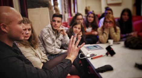 Budapesti szakmai tanulmányúton vesznek részt a sepsiszentgyörgyi drámás diákok
