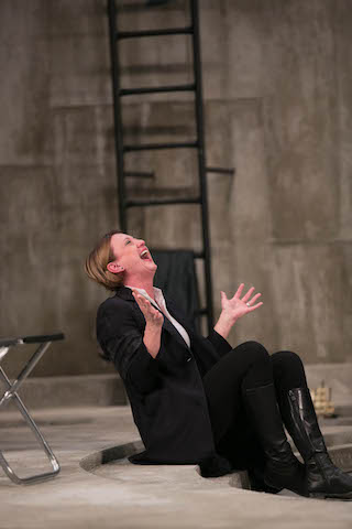 Anne Stockmannként A nép ellenségében. Fotó:Kiss Gibbó Gábor