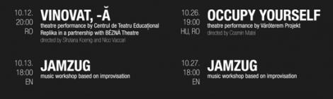 A Váróterem Projekt évadismertetője és októberi programja