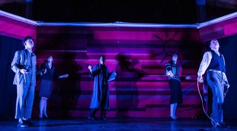 Vajdasági és szlavóniai körúton az Osonó Színházműhely