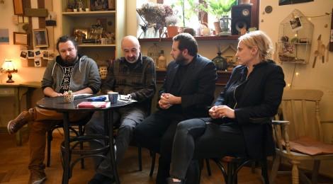 Alapkőletétel és Bocsárdi-bemutató Szatmáron
