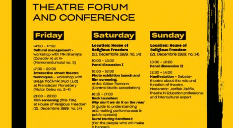 Nemzetközi színházi fórumot és konferenciát szervez a Shoshin Színházi Egyesület