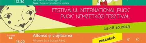 A Kolozsvári Puck Bábszínház októberi programja