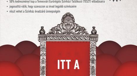 Kult Card bérletet hirdet a temesvári színház