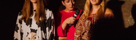 @tizenhét a MaNóSZok önkéntescsapat ifjúsági előadása