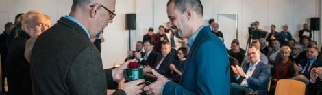 Ezüstfenyő-díjjal tüntették ki Stier Pétert