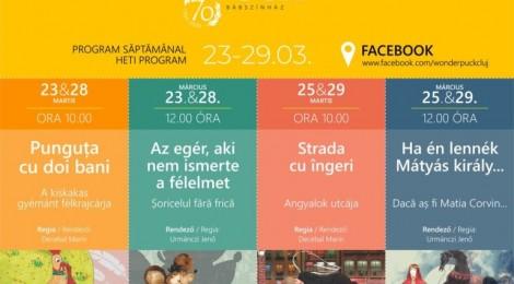 A Puck Bábszínház online előadásai a Facebook-ra költöznek