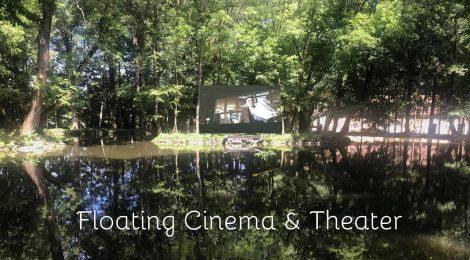 Színház és mozi az árkosi tavon