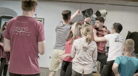 Budapesten tart műhelyfoglalkozás-sorozatot az Osonó Színházműhely