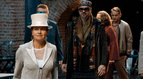 Hamlet díszbemutató a 120 éves Szigligeti Színházban