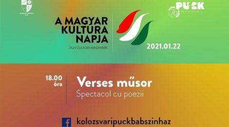 Magyar kultúra napja a Puck Bábszínházban