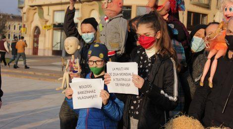 Közös ünnep a bábszínházi világnapon Nagyváradon