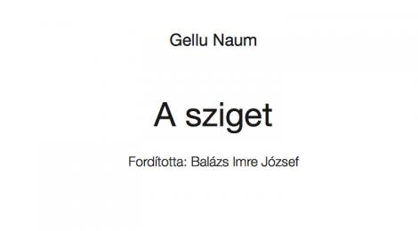 Gellu Naum: A sziget