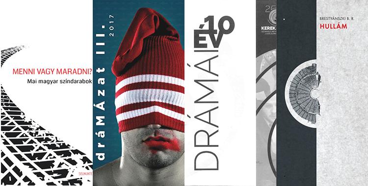 Drámakötet-ajánló a magyar dráma napjára